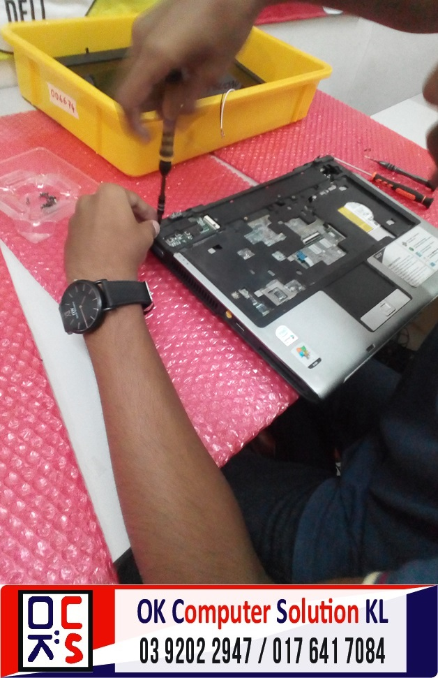 [SOLVED] MASALAH SKRIN ACER ASPIRE 4740G | REPAIR LAPTOP CHERAS 6