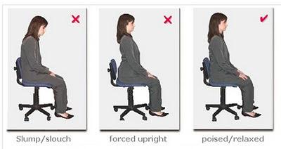 Cara duduk dengan postur betul elak slip disk