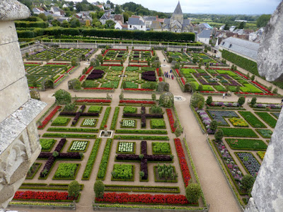 Loire Valley...and its beautiful gardens.