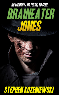 Braineater Jones by Stephen Kozeniewski at Red Adept Publishing