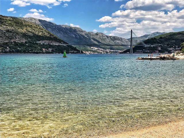 Dubrovnik, Croatia, Sunset, Old City, view, travel, blog, tbloggers, beach, Copacana beach
