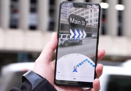 تم الآن إطلاق تطبيق التنقل في خرائط Google AR