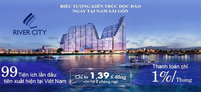 Dự án căn hộ River City quận 7 HCM   Du an can ho River City quan 7 HCM