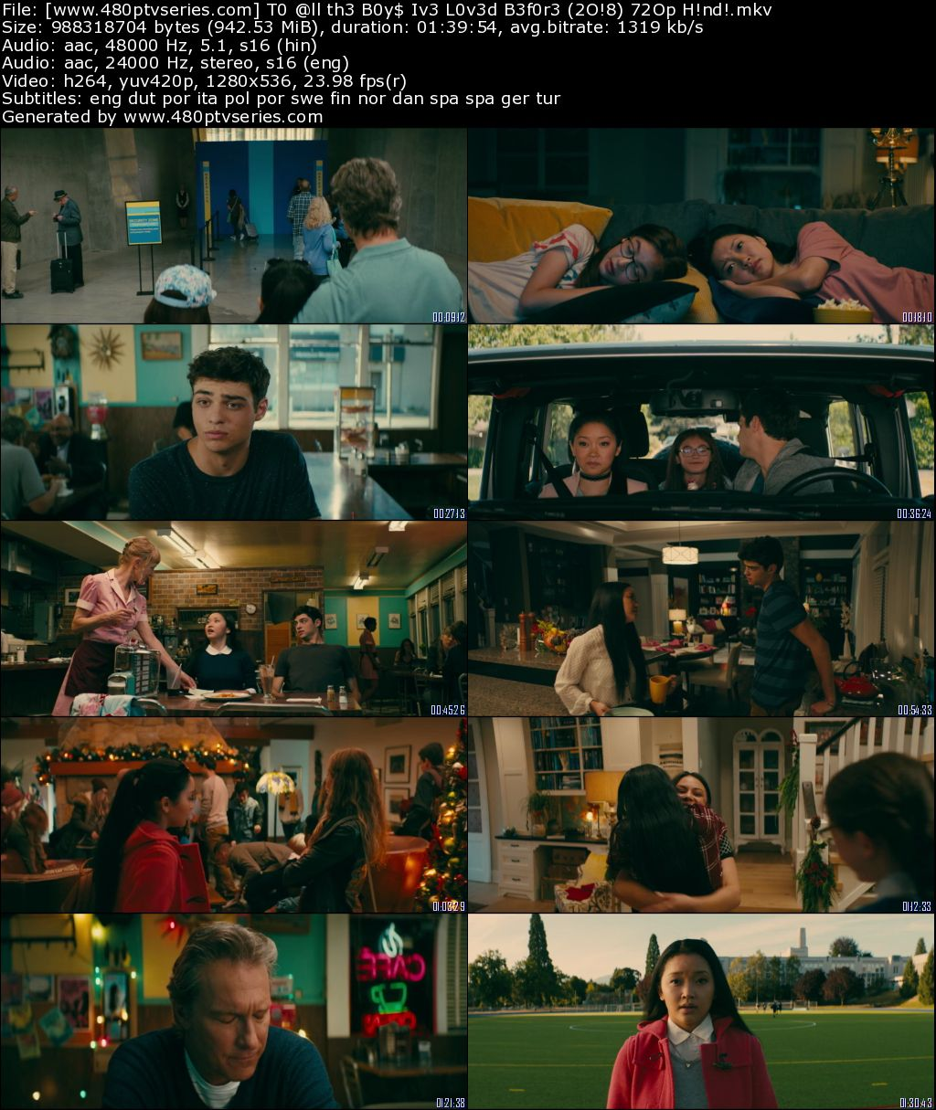 Download To All the Boys I've Loved Before (2018) 950MB Full Hindi Dual Audio Movie Download 720p Web-DL Free Watch Online Full Movie Download Worldfree4u 9xmovies