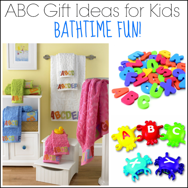 ABC Gift Ideas for Kids: Bathtime Fun from And Next Comes L