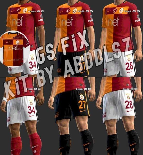 Galatasaray Kit 2017-2018 PES 2013