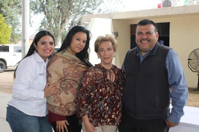 Visita la Sra. Margarita Ibarra Platt Álamos