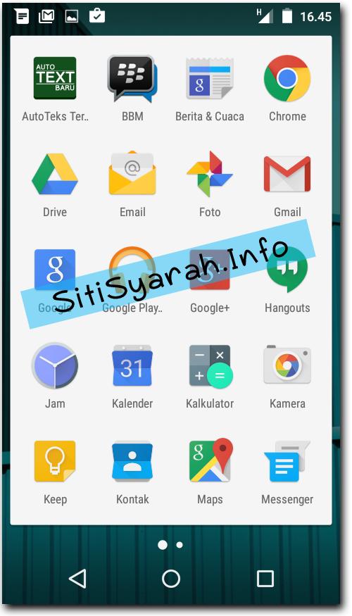 Keunggulan Android Lollipop