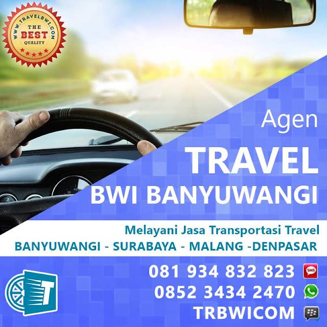Agen Travel BWi Banyuwangi - Surabaya/Malang/Denpasar
