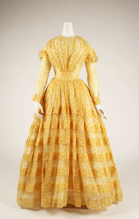 The Dashwood Sisters Mid 19th Century Doll Dress