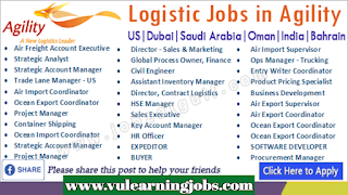 Agility Logistics Jobs - Middle East - Europe - Jobs In 2019