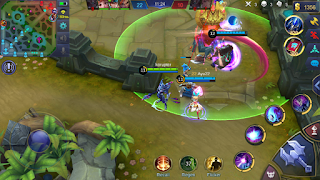 Easy ways to destroy the tower in Mobile Legends game