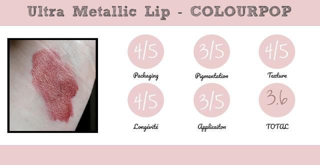 Review Ultra Metallic Colourpop