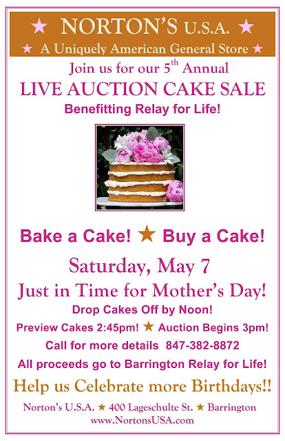 Barrington Cake Auction Benefiting Relay for Life