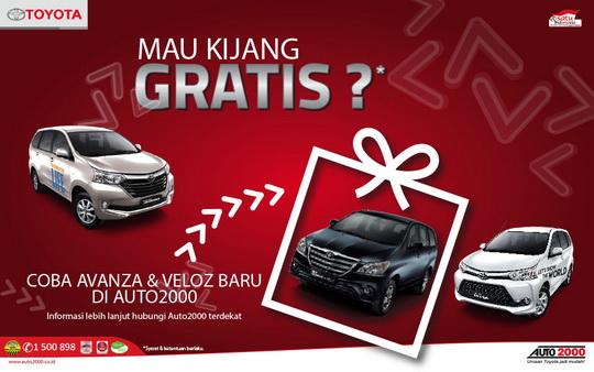 test drive grand new veloz all alphard facelift gratis kijang innova jika avanza