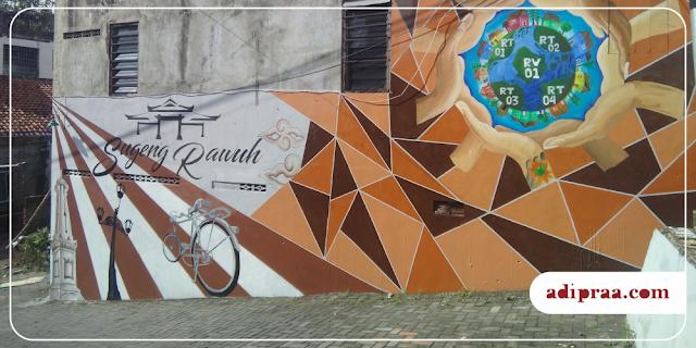 Mural Sugeng Rawuh di Daerah Bumijo | adipraa.com