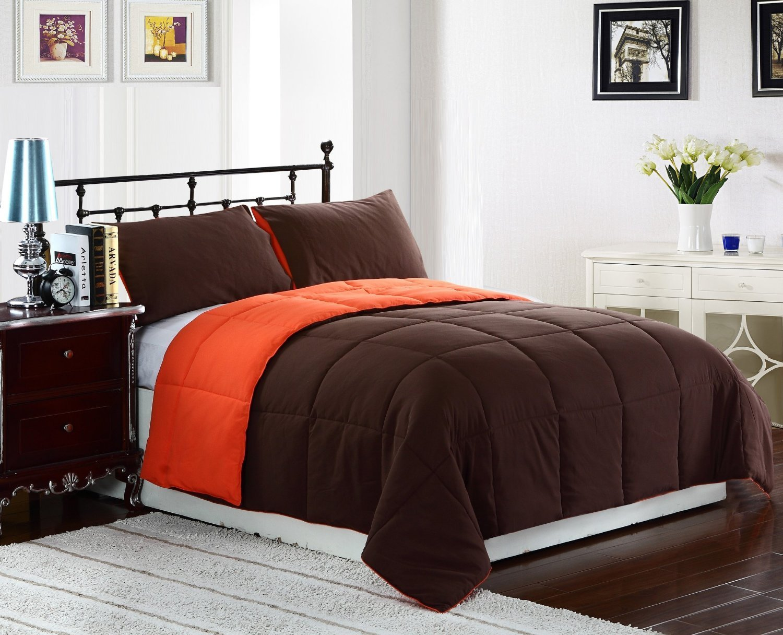 Bright To Burnt Orange And Brown Comforter Amp Bedding Sets