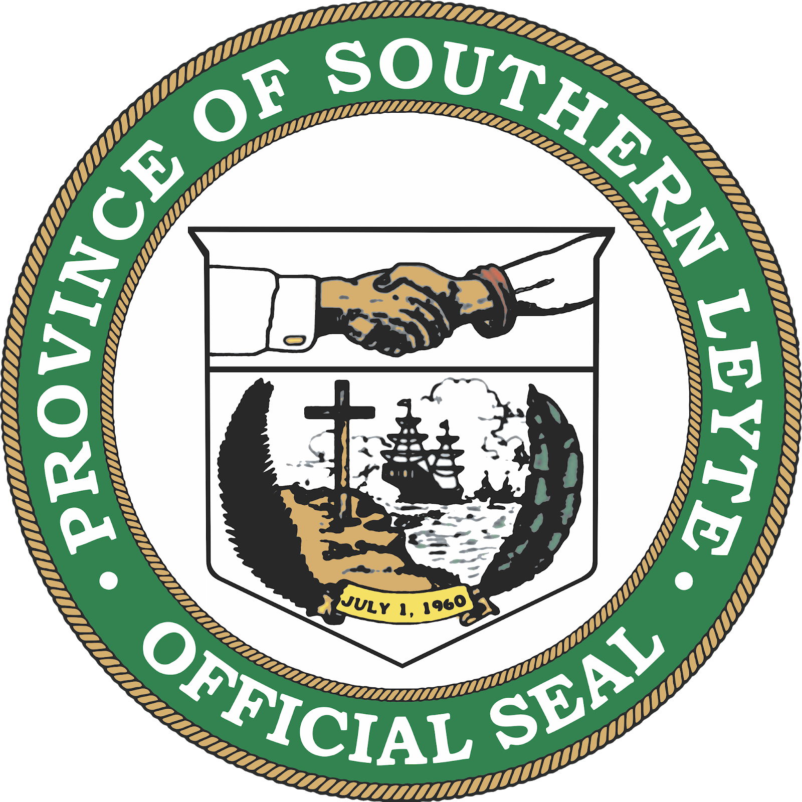 LOGO NATION PHILIPPINES: Province of Southern Leyte Official Seal