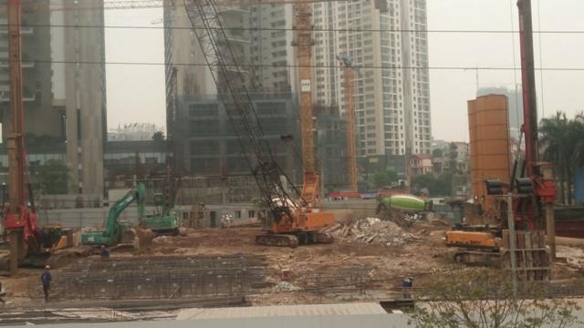 tiến độ xây dựng Chung cư Sunshine Boulevard
