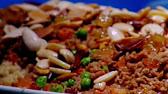 طريقة عمل الأرز مع الخضار  ديما حجاوي وسلمى زوايدة