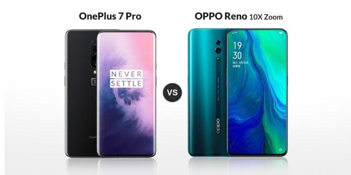 OnePlus 7 Pro vs Oppo Reno