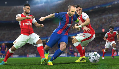 PES 2016 Gameplay Patch dari PES 2017 Demo
