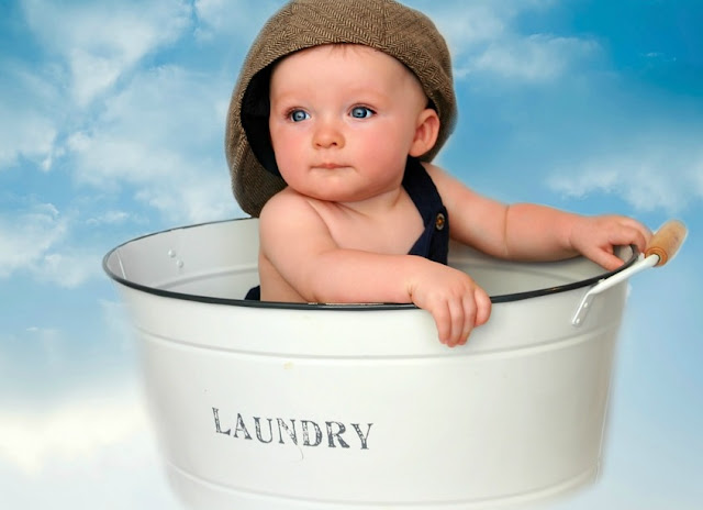 Image: Baby in a Laundry Tub, by Sue Davies on Pixabay
