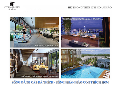 Tiện ích của dự án Marriott Đà Nẵng