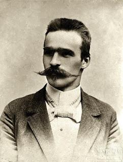 Józef Piłsudski - fot. Jan Bułhak 1896