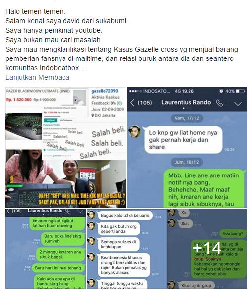 Curhatan Ketua Beatbox Sukabumi tentang Masalah Indobeatbox dengan Laurentius Rando