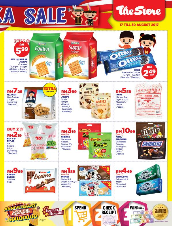 The Store Catalogue Merdeka Sale Discount Offer Promo