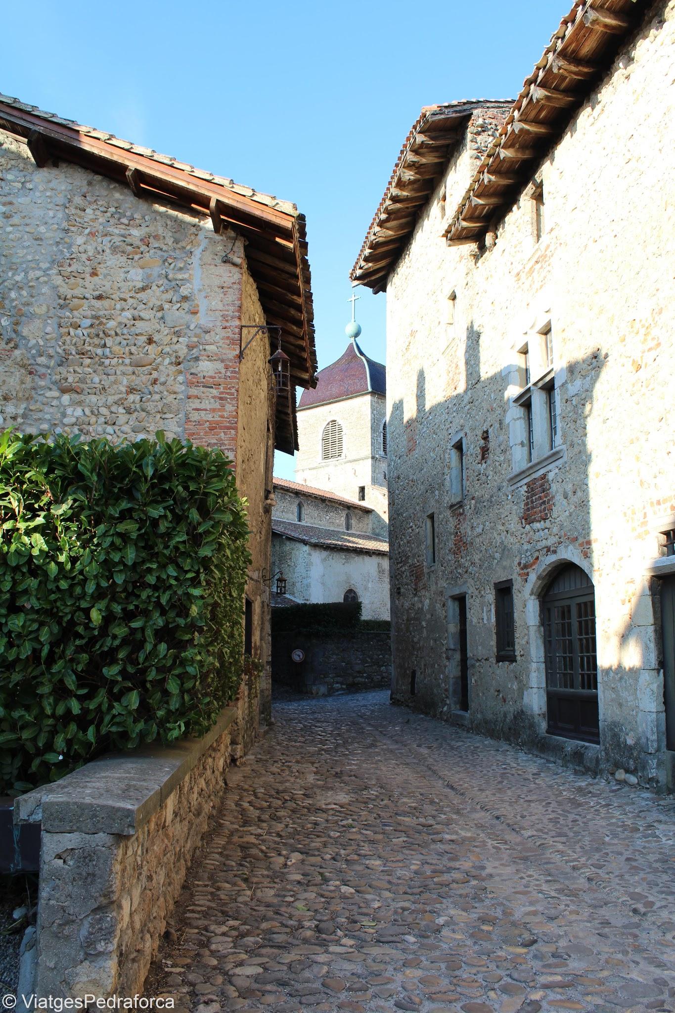 Cité médiévale de Pérouges, Ain, Rhône-Alpes, França