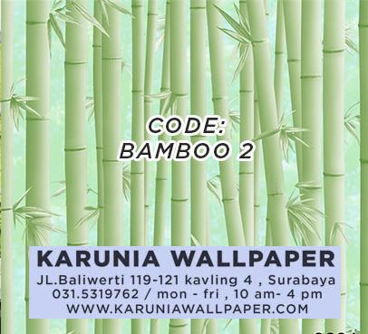 jual wallpaper bambu murah surabaya