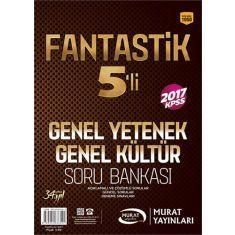 Murat Yayınları KPSS Lisans Fantastik 5li Soru Bankası Seti (2017)