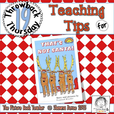 That's Not Santa by Leonard Kessler TBT - Teaching Tips.