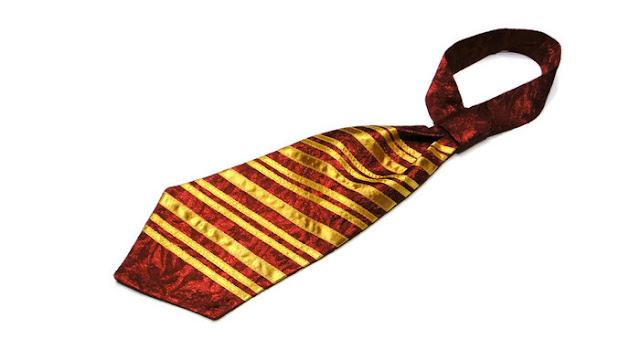 Галстук Гарри Поттера, галстук Гриффиндора - подарок сыну школьнику, костюм волшебника