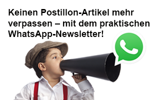 Postillon im WhatsApp Abo