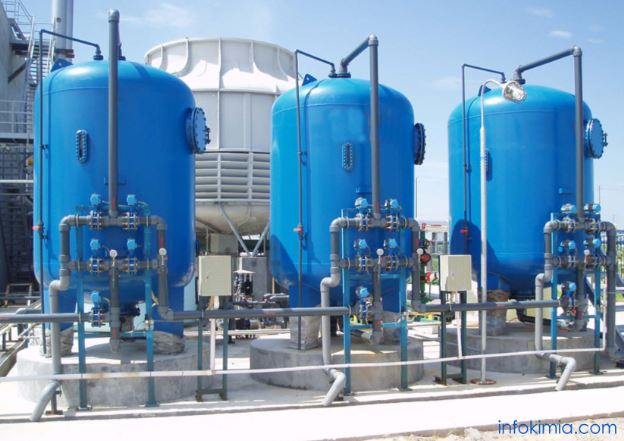 pengolahan air untuk industri kimia, water treatment