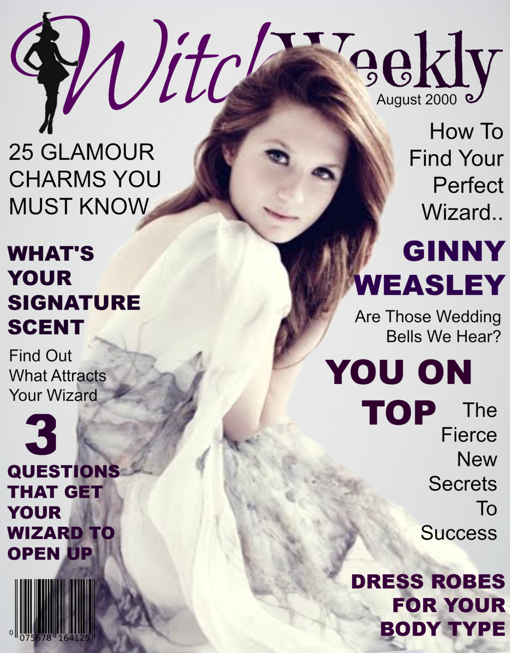 Fan-made Harry Potter 'Witch Weekly' magazine cover