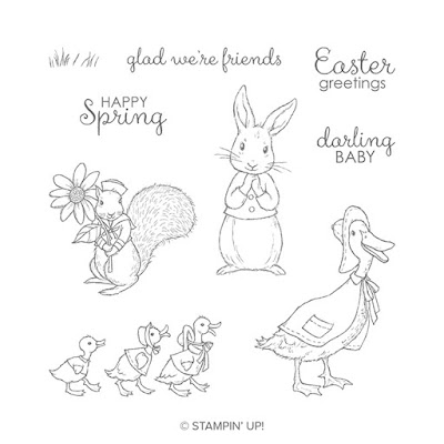 Stampin Up Fable Friends andi-amo