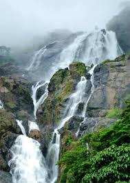 Dudhsagar Falls Stream
