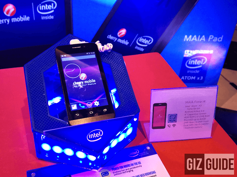 Cherry Mobile Mobile MAIA Fone i4 Announced! A Cheaper SoFIA Phone Priced At 1,999 Pesos!
