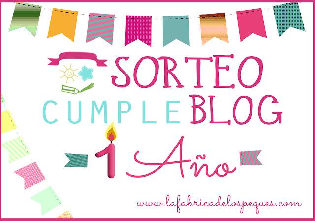 Sorteo Cumple Blog 1 Año