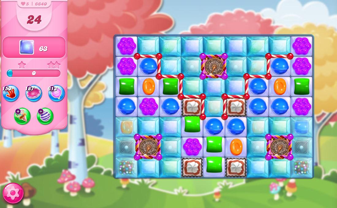 Candy Crush Saga level 6640