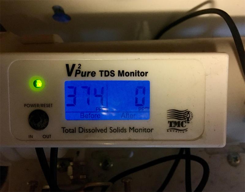 Reverse Osmosis Aquarium Filter Tmc Ro System Tds Meter