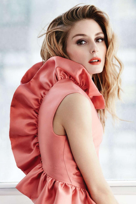 Olivia Palermo Photoshoot Fashion Magazine March 2016 Issue