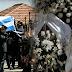 Σκηνές αρχαίας τραγωδίας στην κηδεία του Γιώργου Μπαλταδώρου - Κατέρρευσε η σύζυγός του
