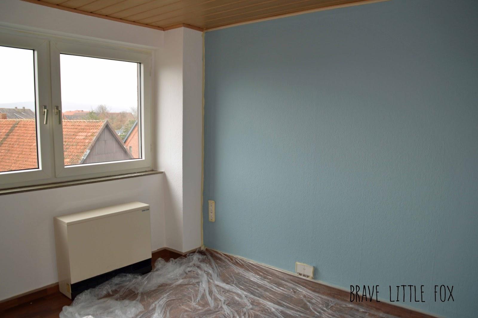 Schlafzimmer Hellblau Streichen