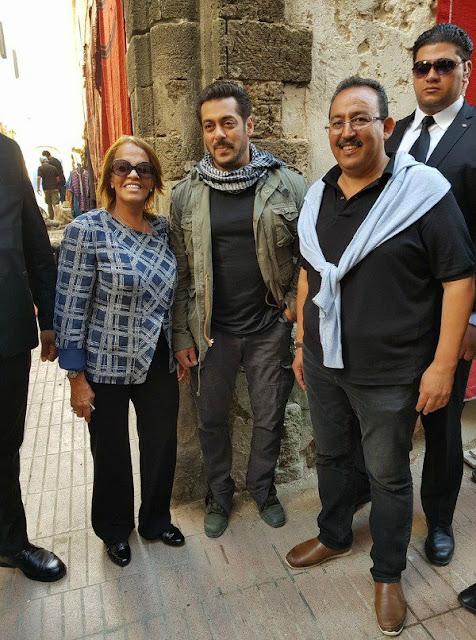 Tiger Zinda Hai Latest Location Stills From Morocco