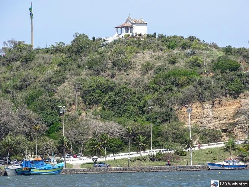 O que fazer em Cabo Frio - Mirante do Morro da Guia